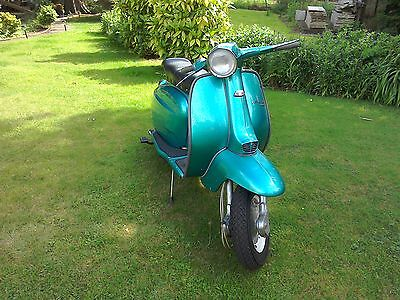 Lambretta Li125.  Mot+V5/logbook.  Delivery Can Be Arranged.