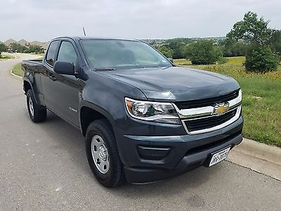 2017 Chevrolet Colorado W/T 2017 Chevrolet Colorado