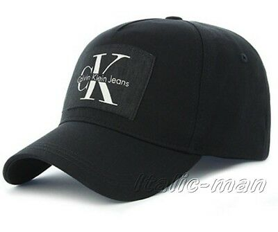 Berretto-Cap uomo CALVIN KLEIN mod. K50K503294 re-issue baseball nero 001