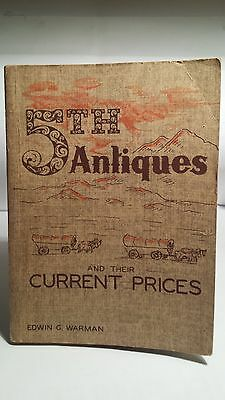 WARMAN'S 5th EDITION ANTIQUES PRICE GUIDE..*1958*..Excellent Condition..FREESHIP