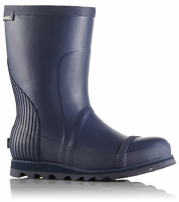 Sorel Joan Rain Short Boot, Womens, Nocturnal, Atmosphere, 10