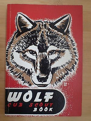 Boy Scouts of America BSA Wolf Cub Scout Book Copyright 1952