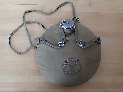 Vintage Boy Scouts of America BSA Offical Canteen and Cover