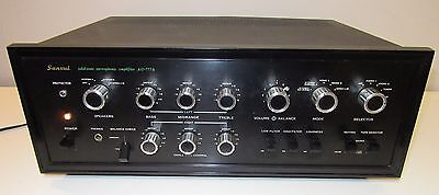Sansui Integrated Amplifier Au-777A Works Perfect Great Condition Serviced