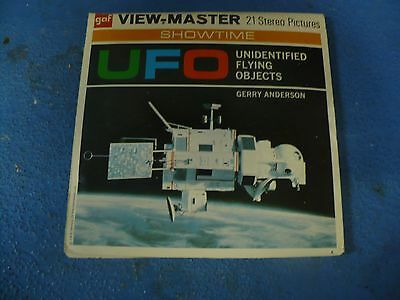 UFO Unidentified Flying Objects rare view-master reel