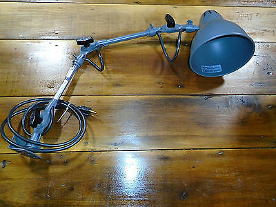Nos Fostoria Industrial Adjustable Work Bench Light - Never Used!!!   (8266)