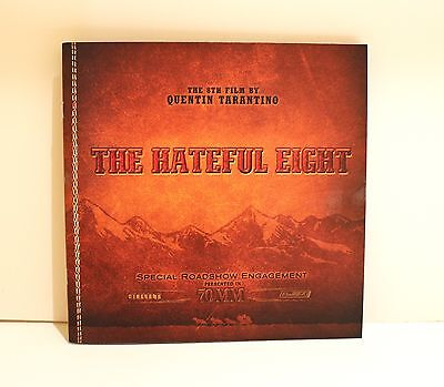 The Hateful Eight 70mm Special Roadshow Engagement Movie Program TIM ROTH poster