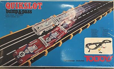Vintage Slot Cars Set Toltoys