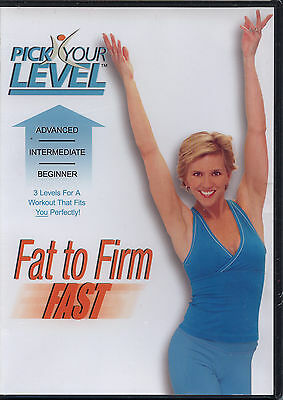 PICK YOUR LEVEL ~ FAT TO FIRM FAST ~ DVD new