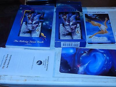 collectible ROHRIG TAROT CARDS & book mint condition  VTG HTF OOP