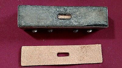 """Leather Tool - CLICKER DIE Makes Buckle End  - 5"""" x 1 1/8"""""""
