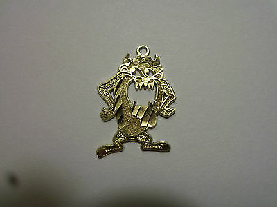10k Yellow Gold Tazmanian Devil Looney Toon Charm