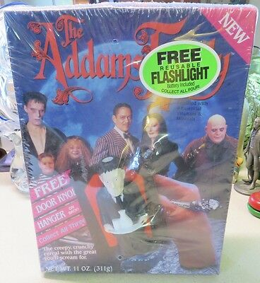 Sealed Vintage Ralston The Addams Family Cereal with Toy