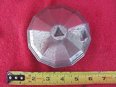 RARE Vintage Auto Car Screw On Grease Cap Hub Nut Dust Cover Hubcap Axle Bearing