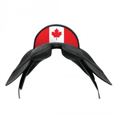 Wintec Saddle Cantle Back NEW Canadian Flag