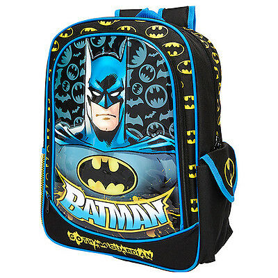 Kids School Backpack Batman Boy Bag with Cape Children Super Hero