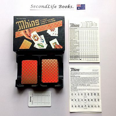 (Vintage) MHING: A Classic Card Game Based On Mah Jongg. Spear & Sons (1984).