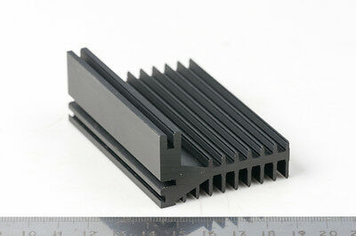 Aluminium Heat Sink For PCB Boards Heatsink Heat Dissipation 75 x 50 x 28mm New