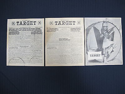 WW2 Dec 1945 The Saipan Daily Target US Military Occupation of Japan Newspaper