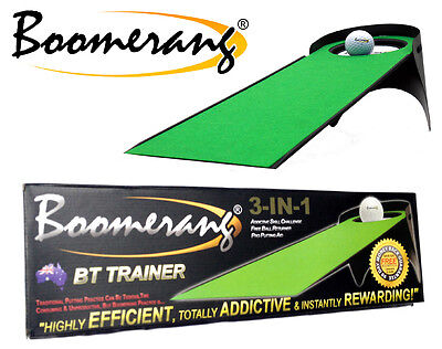 3-in-1 BOOMERANG GOLF PUTTING AID - FIX YOUR PUTTING FAST & FOREVER