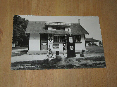 Early Supertest Coulterville Camp Ontario Postcard