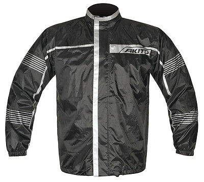 Motorcycle Two Piece Rain Suit - Akito Storm Size M