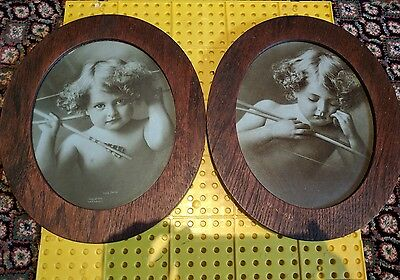 Old Cupid Framed Pictures