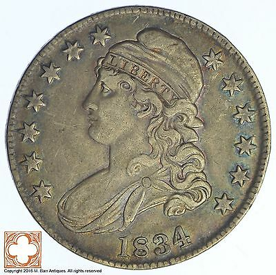 1834 Capped Busted Half Dollar *XB80