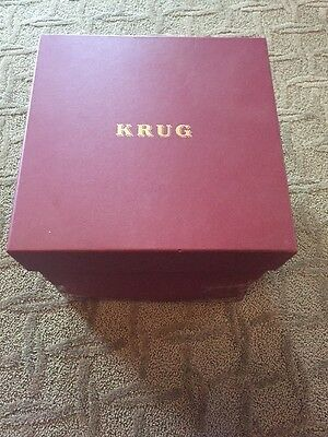 KRUG Champagne Pewter Ice Bucket with Box - Extremely Rare