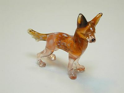 Chinese Crested - Hand Made Art Glass Dog Breeds figurines