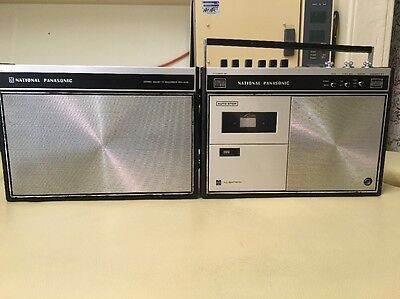 Vintage Cassette Player - National Panasonic In Great Working Order - 1970's