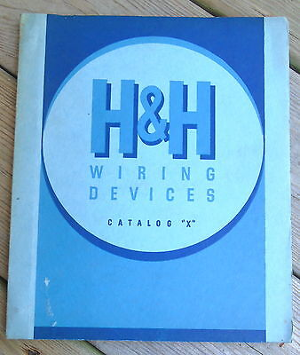 1940 Hart & Hegeman Electric Co. Catalog Vintage Electric Wiring Device Catalog