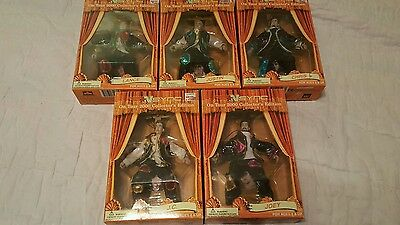 NSYNC COLLECTIBLE MARIONETTE DOLLS (SET OF 5) Joey Lance Chris Justin Timberlake