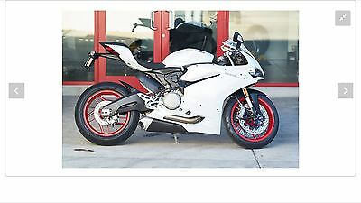 2016 Ducati Superbike  Ducati 959 Panigale Only 58 Miles (NO RESERVE)