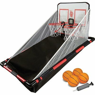 Black Series Electronic Over-the-Door Basketball Hoops Game Indoor Play LED