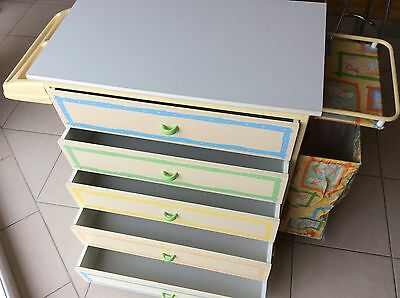 Baby Change table / Chest of Drawers / Bath
