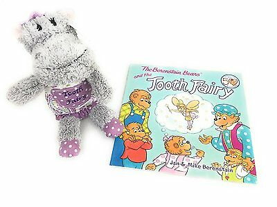 Gift Set Maison Chic Heather the Hippo Tooth Fairy Pillow and the Berenstain and