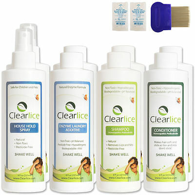 ClearLice Family Size Lice Treatment Kit