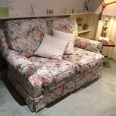 Floral Sofa & 2 Chairs