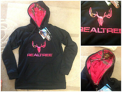 New Realtree camo pullover hoodie size small.