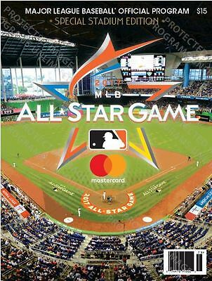 2017 Mlb All Star Game Program Official Stadium Issue Version Asg Miami Marlins