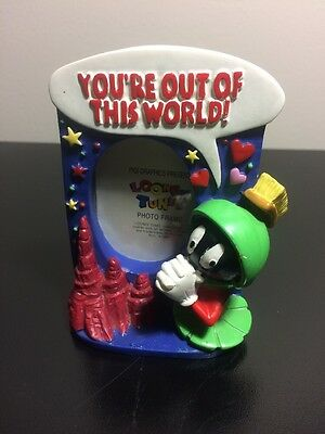NEAT - Marvin the Martian...Mini Picture Frame  (Warner Bro. LOONEY TUNES) 1994