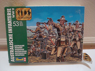 Revell Accurate 1/72 Australian Infantry  WWII  Model #2501
