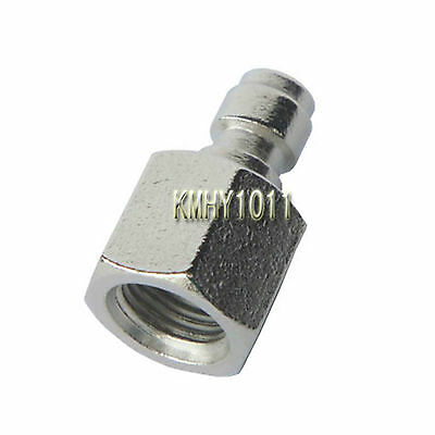 """Inner Thread 1/8"""" NPT Paintball Male Quick Disconnect Adaptor"""