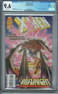 Cgc 9.6 X-Men #53 White Pages 1St Full Appearance Of Onslaught