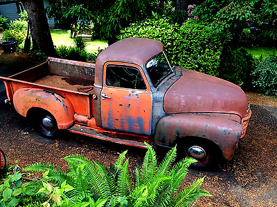 1950 Chevrolet Other Pickups  1950 Chevy Truck 3100 Short Bed Pickup no Air Rid Rat Rod not Bagged Patina c10