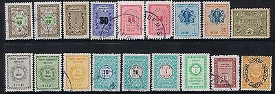 Small Lot Of Stamp From Turkey