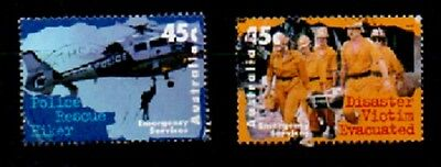 Australian Decimal Stamps 1997 Emergency Service Pair Fine Used