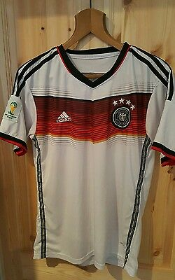 Germany Football Shirt  Authentic Vintage Adidas  size xl