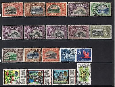 Small Lot Of Stamp From Trinidad & Tobago